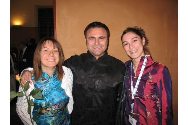 A un congresso organizzato da Intercultura nel 2009