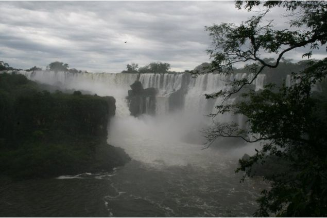 Alla cascate di Iguazù