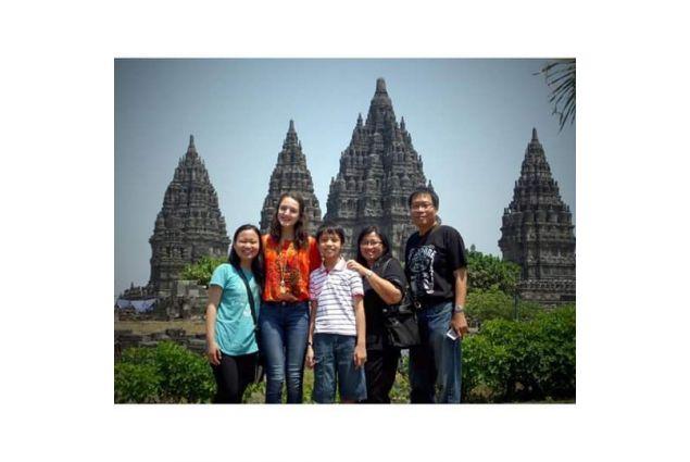 Viola e famiglia a Bali