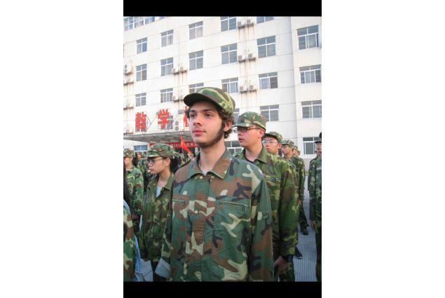 L'inizio di una solita giornata di scuola in Cina