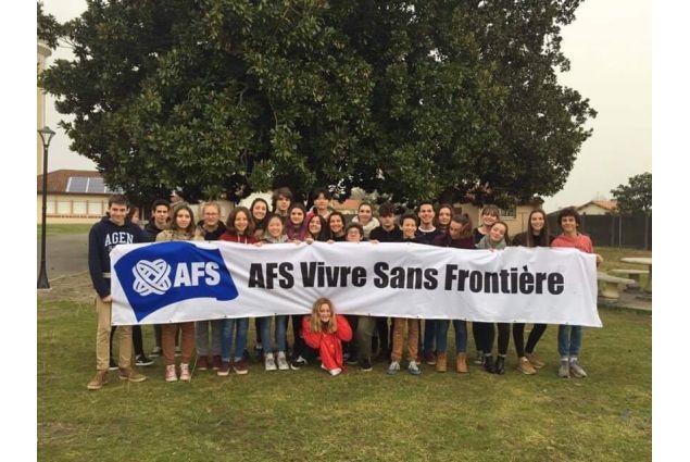 Il gruppo degli studenti AFS