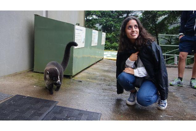 Nahed e gatto