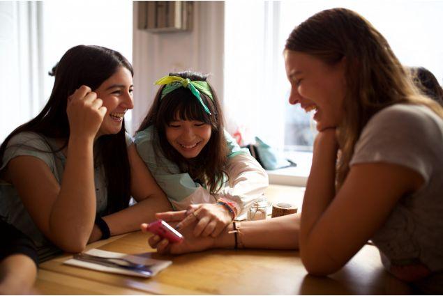 <div>Trini dal Cile, Lulu da Hong Kong, Salli, sorella ospitante di Trini. Hygge con le ragazze a Copenaghen.</div>