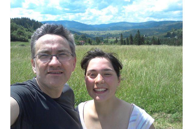 Anna e il papà ospitante