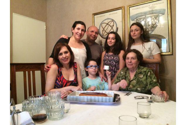 La famiglia ospitante di Camilla