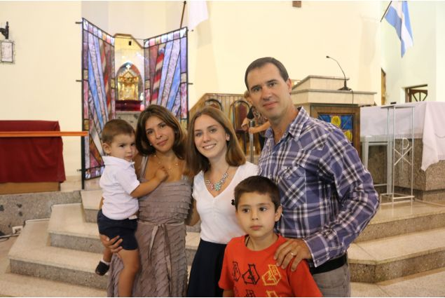 Rebecca famiglia ospitante