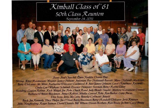 Reunion della classe, dopo 50 anni