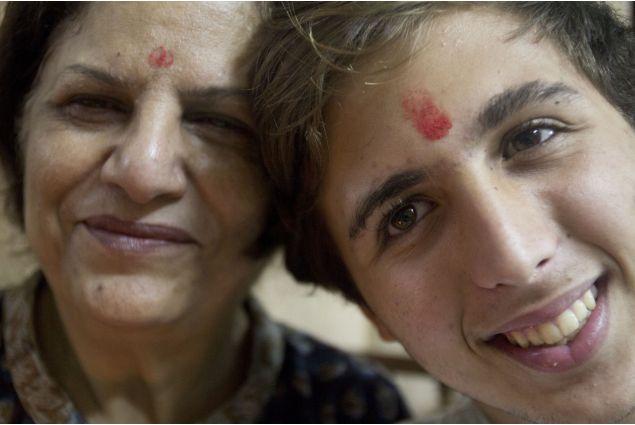 Francesco e mamma