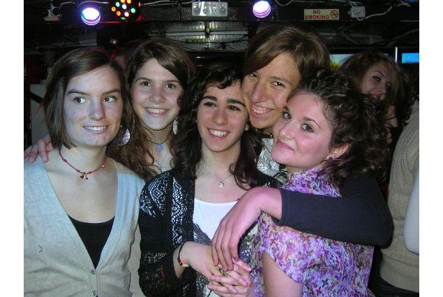 Il gruppo delle studentesse straniere del Merici