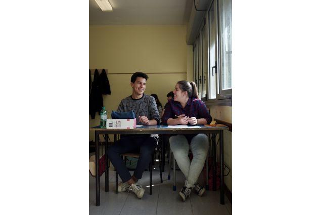 Romina a scuola