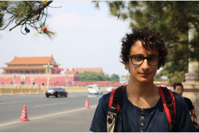 Prima visita di Matteo a Piazza Tiananmen