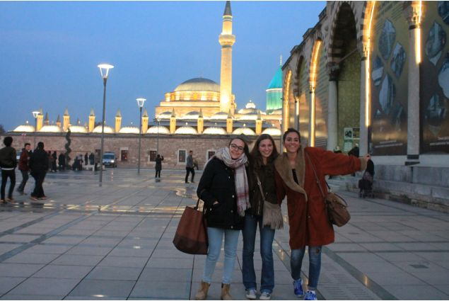 Marilisa e le sue amiche ad Istanbul