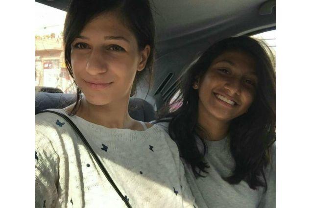 Silvia e una sua amica
