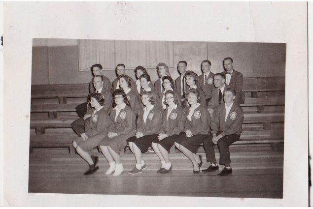 Lo Student Council - Anna è la prima in basso a sinistra