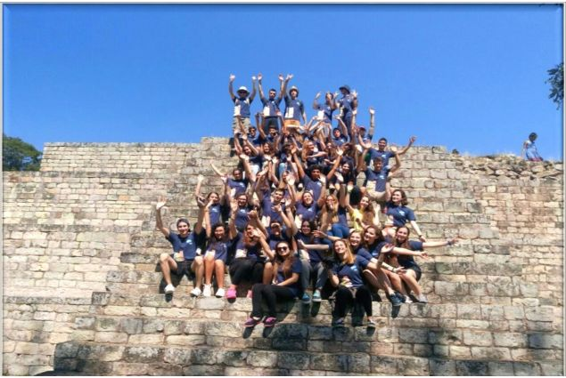 Studenti italiani in Honduras