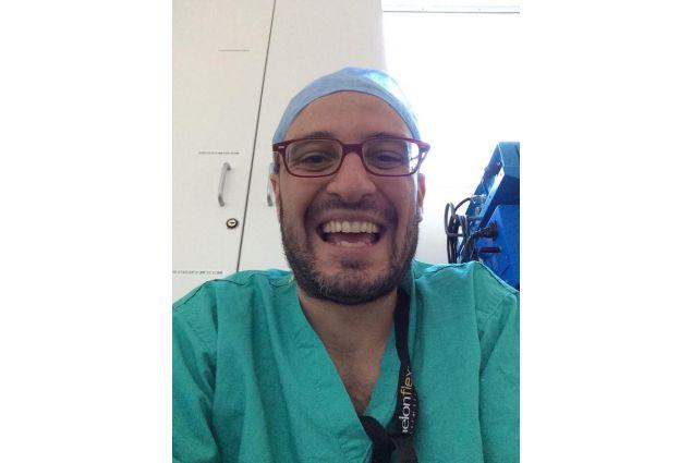 Rocco Bilancia, ex partecipante ad un programma di studio all'estero con Intercultura e ora chirurgo in Inghilterra