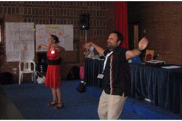 A un seminario regionale di Intercultura nel 2013