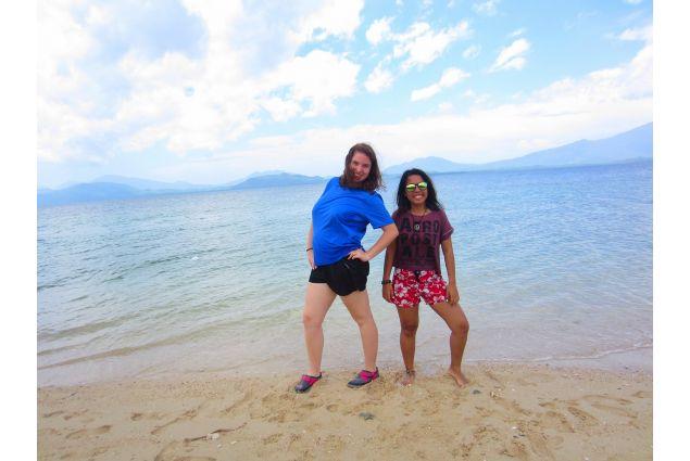 Daria e sorella al mare