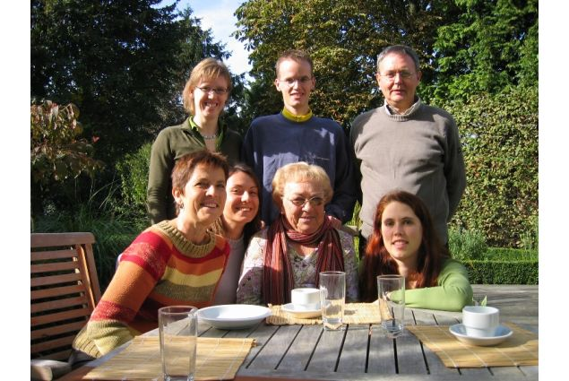 Marianna torna a trovare la famiglia ospitante nel 2006