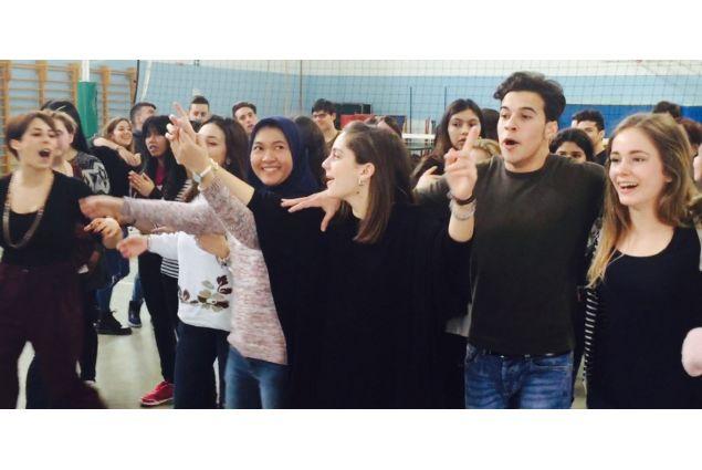 Studenti all'Istituto Olivetti