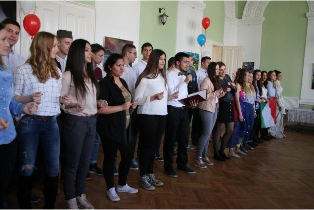 La giornata italiana, organizzata nella scuola di Myriam
