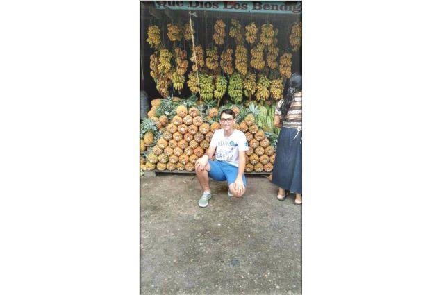 Al mercato di frutta