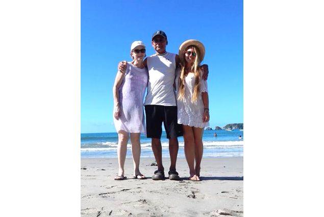 Cristina e famiglia