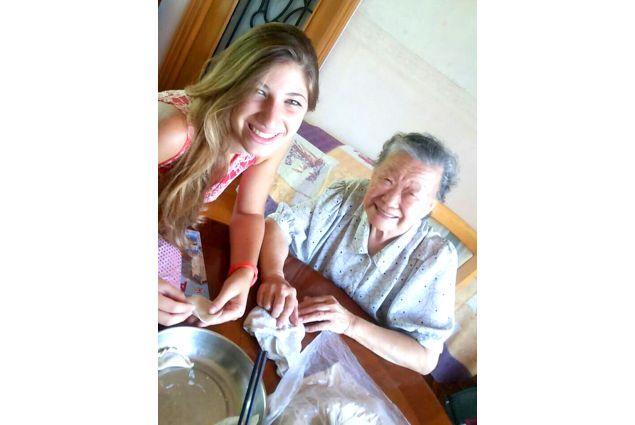 Claudia e nonna