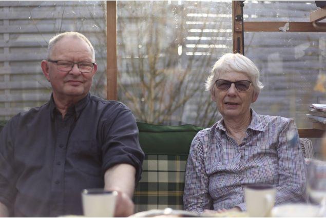 <div>Hans Christian e Karri. I vicini di casa. Danese lui, norvegese lei, hanno accolto Claudia come se fosse anche un po' la loro figlia ospitante.</div>