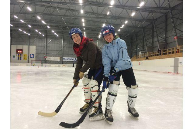 partita di hockey