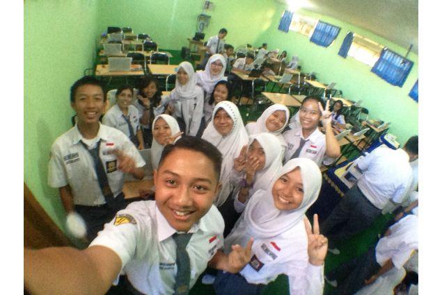 selfie gruppo classe