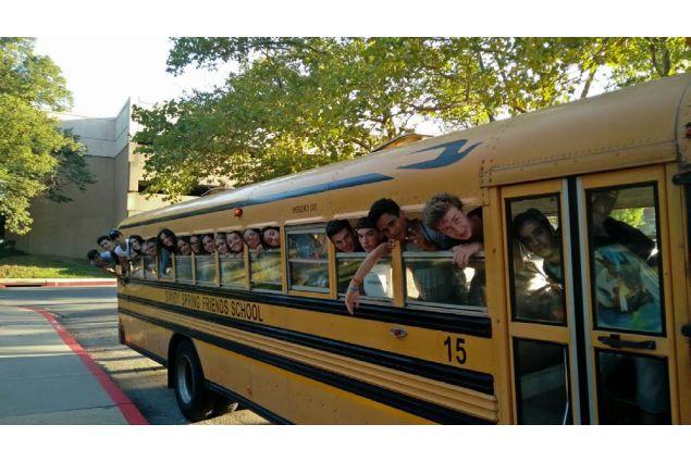 Andando a scuola a Sandy Spring...