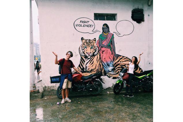 Graffiti a Connaught Place