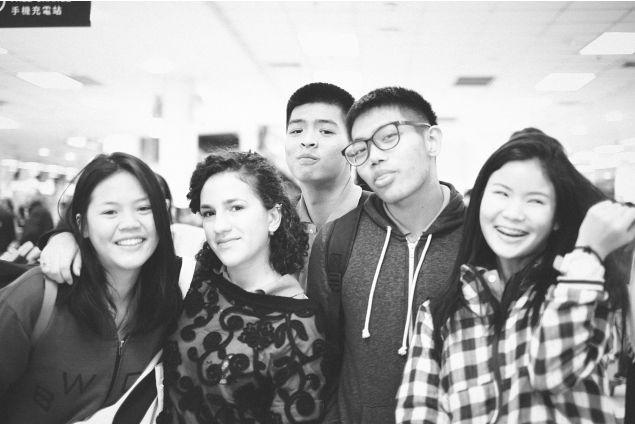Con gli amici