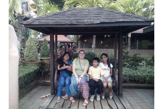 Daria e famiglia a Palawan