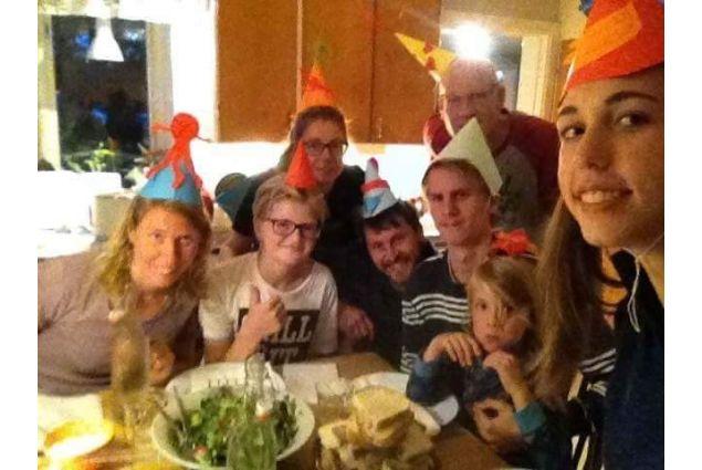 Festa di compleanno con la mia famiglia svedese
