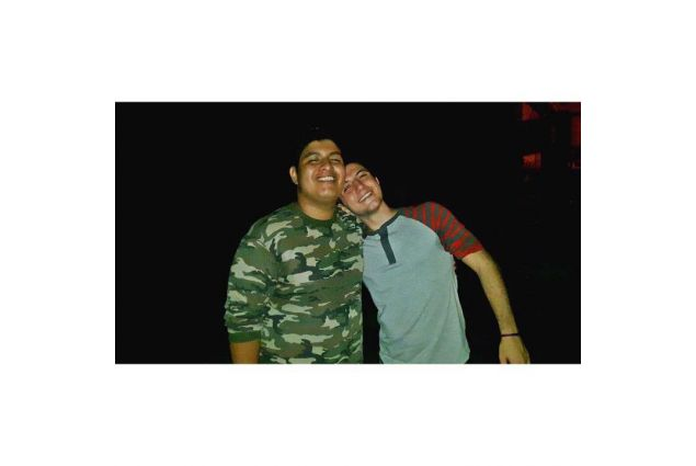 Enrico e Daniel, il suo migliore amico