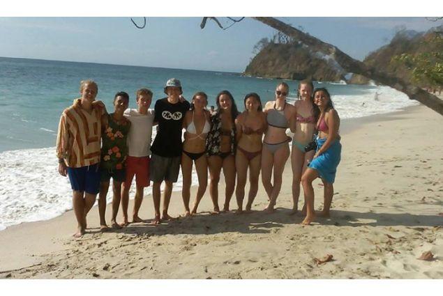 Alla Playa Blanca con amici da tutto il mondo: Finlandia, Svizzera, Germania, Svezia, Giappone e Brasile