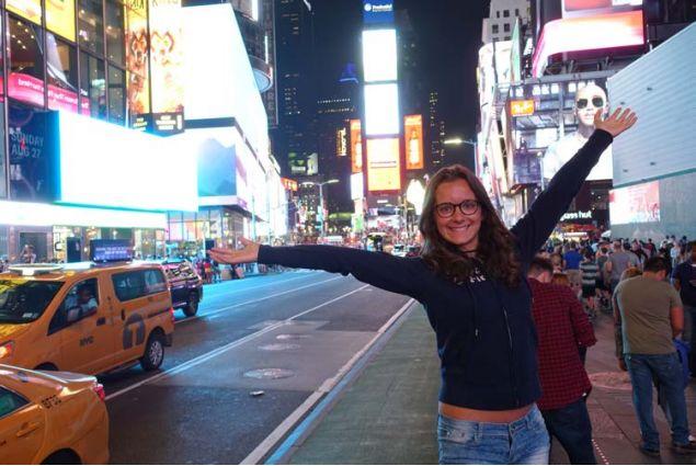 .. e infine a New York!
