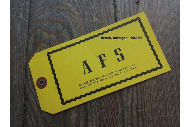 L'etichetta di Anna, nel 1960
