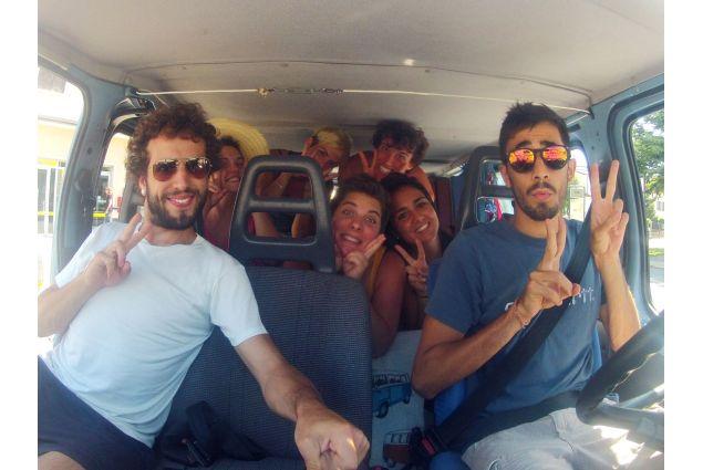 In viaggio con il furgone Ugo