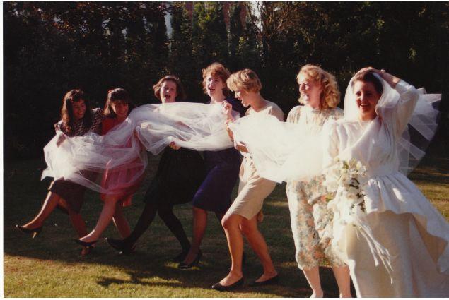 Matrimonio di Nathalie, un'amica di Grazia - 1989