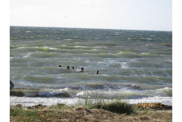 Un bagno nel mare del nord