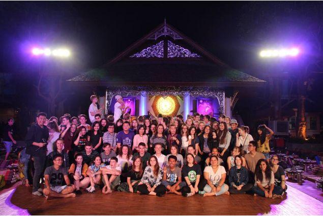 <div>AFS family: alcuni dei tanti amici da tutto il mondo che Gaia ha incontrato durante la sua esperienza.</div>