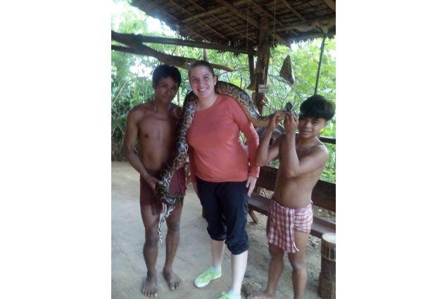 Daria al villaggio tribale