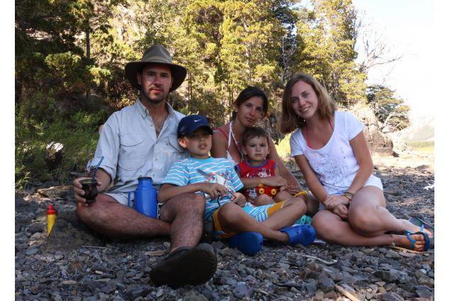Rebecca io famiglia nella cordigliera delle Ande