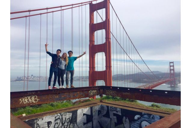 Il Golden Gate Bridge!