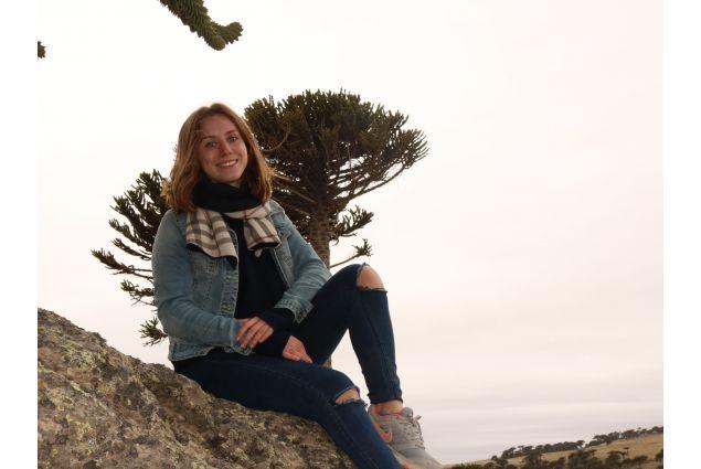 Rebecca alla Cordigliera delle Ande