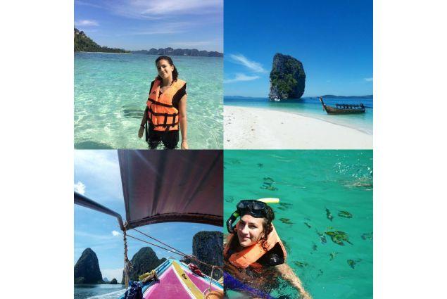 <div>In gita scolastica nelle meravigliose isole del sud della Thailandia.</div>