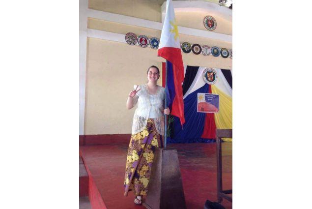 Daria alla festa della lingua filippina
